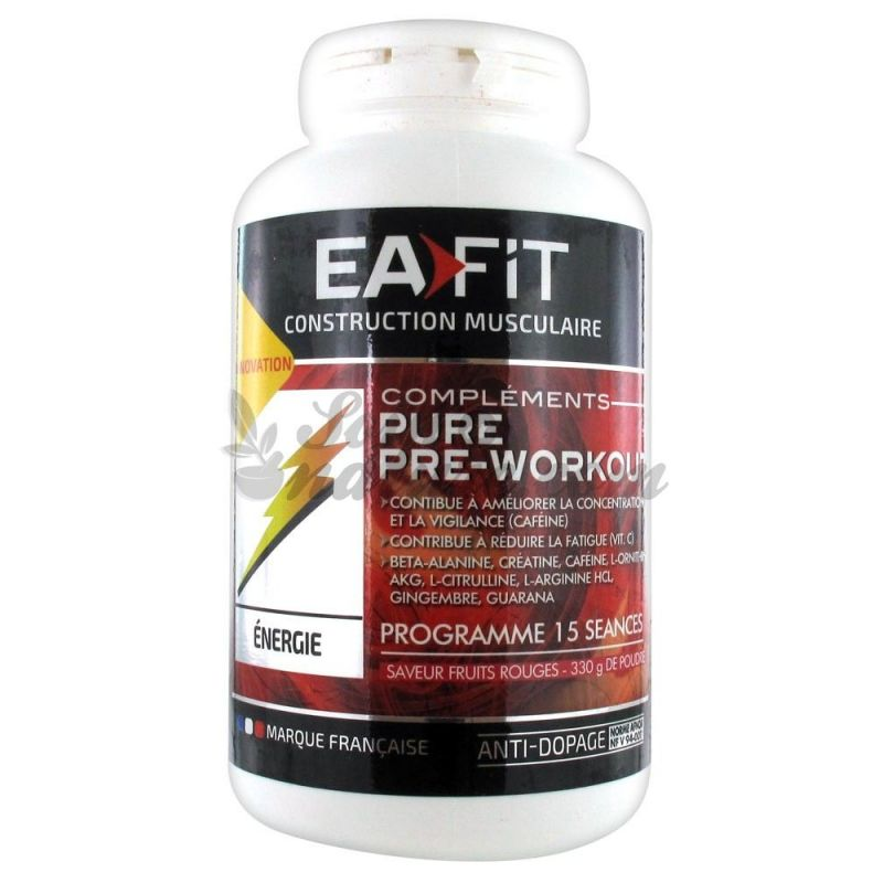 EAFIT PURE PRE-WORKOUT 330G for sale in our organic pharmacy