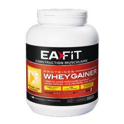 EAFIT WHEY GAINER CHOCOLAT 750G