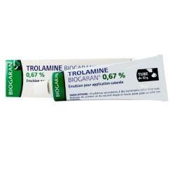 Trolamine Biogaran 0,67 % Émulsion pour Application Cutanée Tube 93g