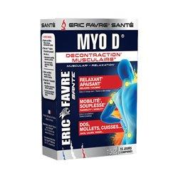 Eric Favre Myo D Décontraction Musculaire 30 Comprimés