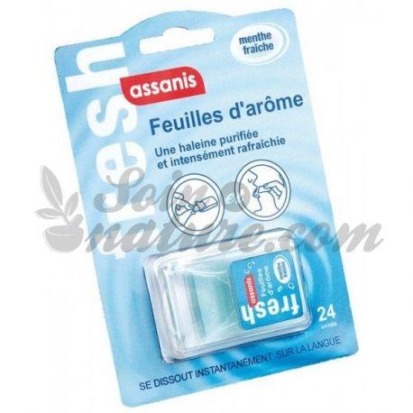 ASSANIS FRESH 24 Feuille d'arôme menthe fraîche