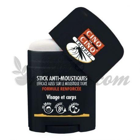 Cinq Sur Cinq Répulsif Anti Moustique Stick Tropic