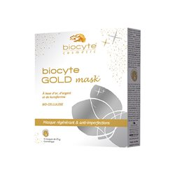 BIOCYTE MASK GOLD Masque régénérant anti-imperfection