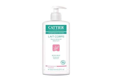 CATTIER LAIT CORPS KARITE GERANIUM 500ML