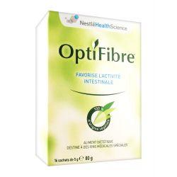 OPTIFIBRE fibre de Guar activité intestinale 16 sachets