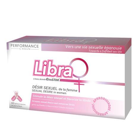 BIOCYTE LIBRA LIBIDO stimule désir et libido FEMME 60 Gélules