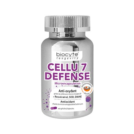 BIOCYTE LONGÉVITY CELLU 7 DEFENSE antioxydant 40 Gélules