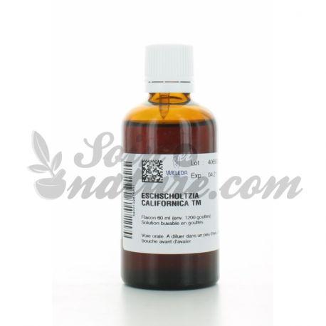 Weleda Eschscholtzia californica tintura Homeopatía