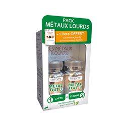BIOCYTE PACK METAL-OUT cure détox métaux lourds 180 Gélules