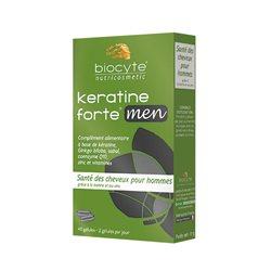 KERATINE MEN Biocyte Santé & volume des cheveux 40 Gélules