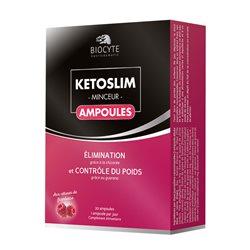 KETOSLIM Contrôle du poids 20 Ampoules Biocyte