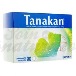 Tanakan® Ginkgo Biloba 90 cápsulas IPSEN PHARMA