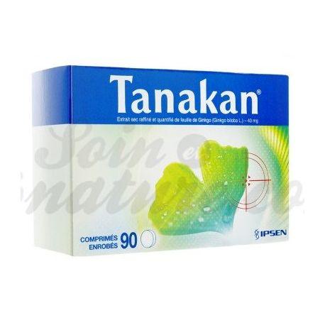 Tanakan Ginkgo biloba 90 CAPSULES IPSEN PHARMA