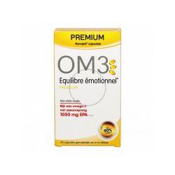 OM3 Équilibre émotionnel PREMIUM 45 CAPSULES