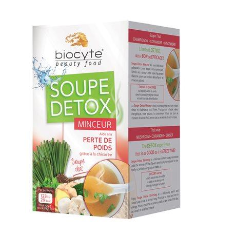 SOUPE DETOX MINCEUR Perte de poids Beauty-food by Biocyte