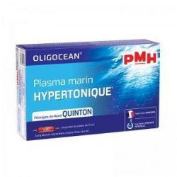 PMH plasma marin hypertonique Quinton Oligocean 20 ampoules