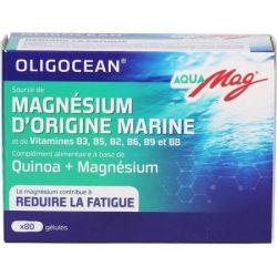 OLIGOCEAN AQUAMAG magnésium marin 80 gélules