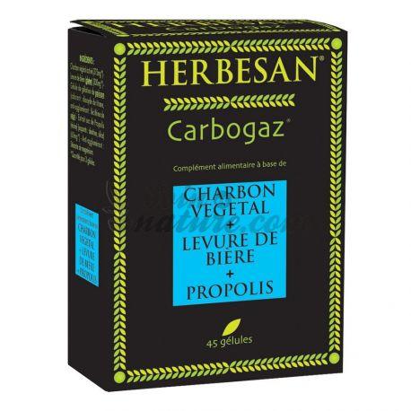HERBESAN CARBOGAZ ballonnement 45 gélules