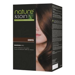Santé-Verte Nature&soin coloration 6MG MARRON MIEL