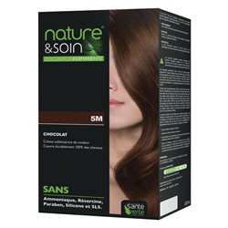 Nature&soin coloration permanente 5M CHOCOLAT