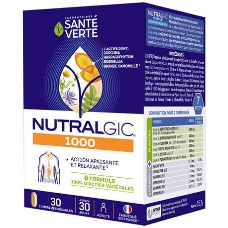 NUTRALGIC 30 GEZONDHEID groene tabletten