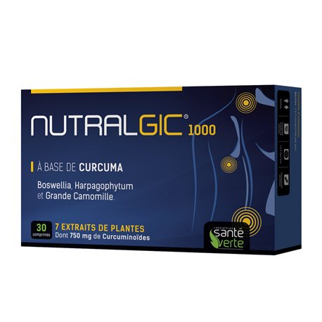 NUTRALGIC 30 HEALTH GREEN TABLETS