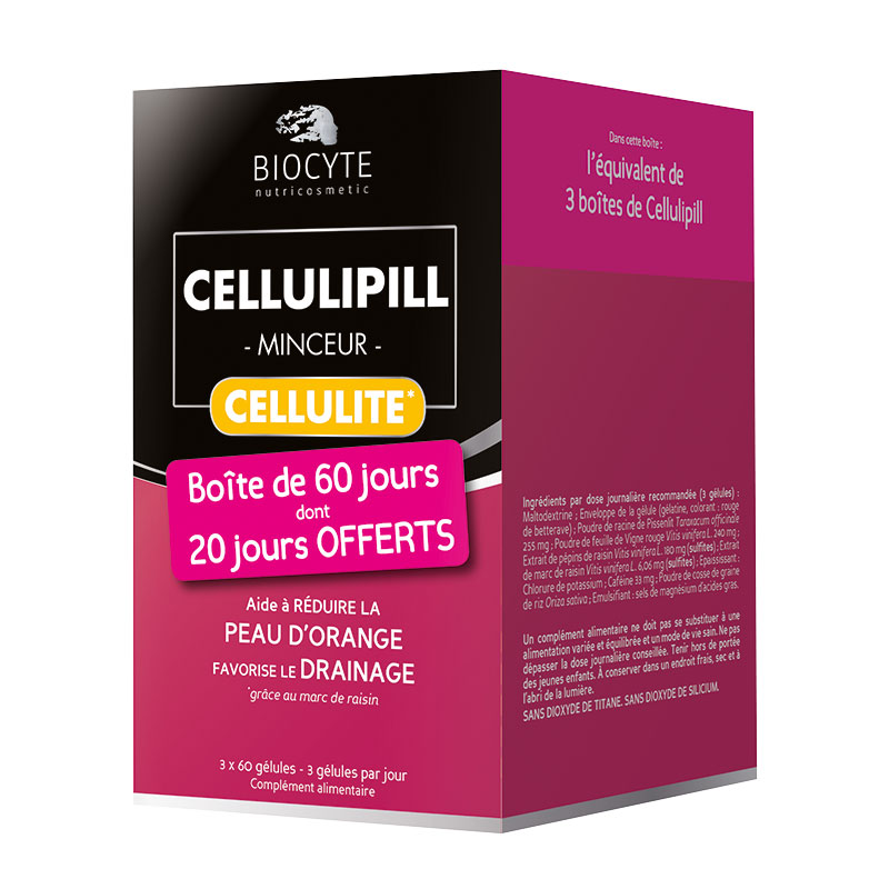CELLULIPILL Biocyte Drainage + smoothed skin 60 Capsules