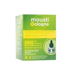 MOUSTIKOLOGNE Recharge liquide pour diffuseur anti-moustique 45ml