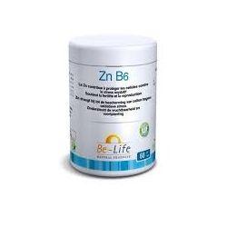 Be-Life BIOLIFE Zn B6 Zinc Vitamine B6 60 gélules
