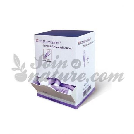 BD MICROTAINER CONTACT auto-piqueur 200 Lancettes
