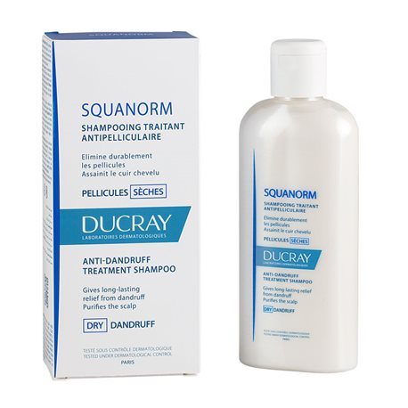 SQUANORM shampoing PELLICULES SÈCHES DUCRAY 200ML