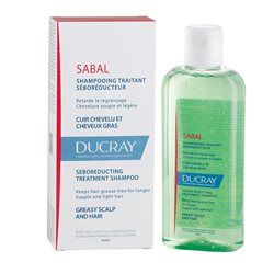 SABAL DUCRAY shampoing CHEVEUX GRAS FL 200ML