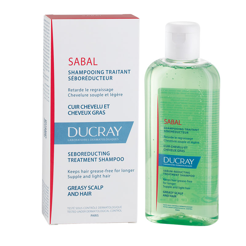 Sabal Ducray Shampoo Fettiges Haar Fl 200ml Bio Apotheke