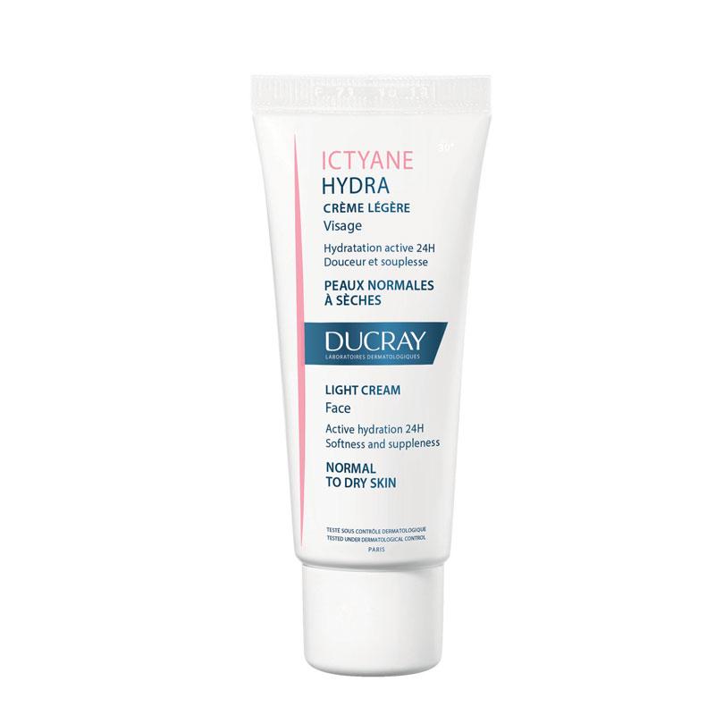 Buy Ducray Ictyane Hydra Light Cream Face 40 Ml In Pharmacy