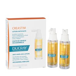 CREASTIM DUCRAY LOTION ANTI-CHUTE OCCASIONNELLE 2X30ML