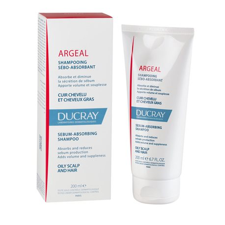 ARGEAL DUCRAY shampoing CHEVEUX GRAS 150ML