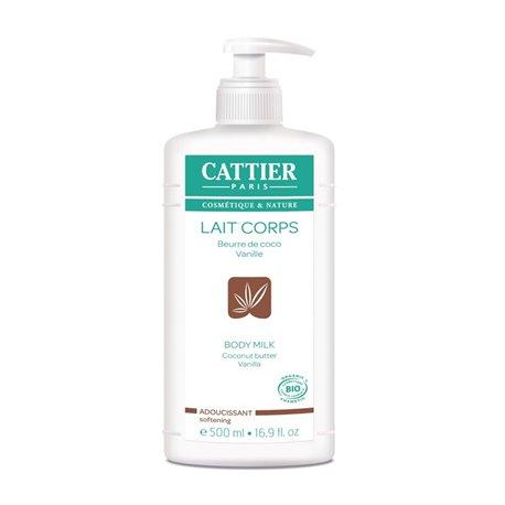 CATTIER LAIT CORPS ADOUCISSANT COCO VANILLE 500ML