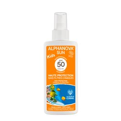 ALPHANOVA SUN BIO KIDS SPF50 écran total enfant 125ML