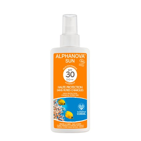 ALPHANOVA SUN BIO SPF30 protection solaire SPRAY 125ML