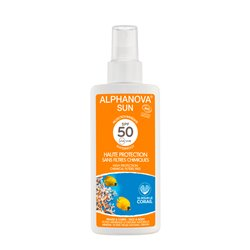 ALPHANOVA SUN BIO SPF50 UVA UVB SPRAY 125ML