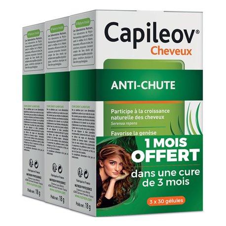 CAPILEOV anti-chute de cheveux 3x30 gélules NUTREOV