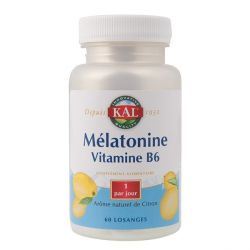 SOLARAY MÉLATONINE 1,9 MG + VIT. B6 60 COMPRIMÉS SUBLINGUAUX