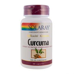 SOLARAY CURCUMA 300 MG 95% CURCUMINE 60 CAPSULES
