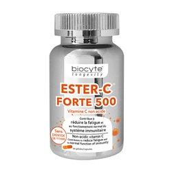 BIOCYTE LONGÉVITY ESTER vitamine C FORTE non acide 30 Gélules