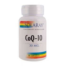 SOLARAY PURE COENZYME Q10 100 MG 30 CAPSULES