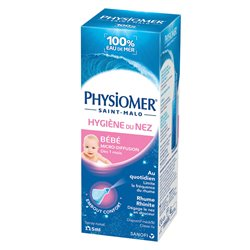 PHYSIOMER NOURRISSON SOLUTION NETTOYANTE NASAL 115 ML