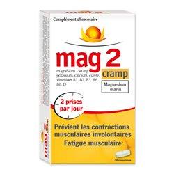 MAG 2 CRAMP Magnésium marin + Vitamines 30 COMPRIMÉS