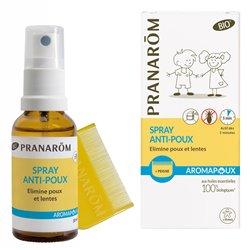 PRANAPOUX SPRAY ANTI-POUX BIO SPRAY 30ML + PEIGNE