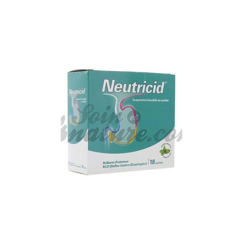 NEUTRICID Magenrückfluß 18 BAGS bio pharmacy