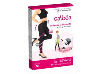 ddc048236ac60 Sculpting leggings young mother Galbéa Sigvaris in bio pharmacy